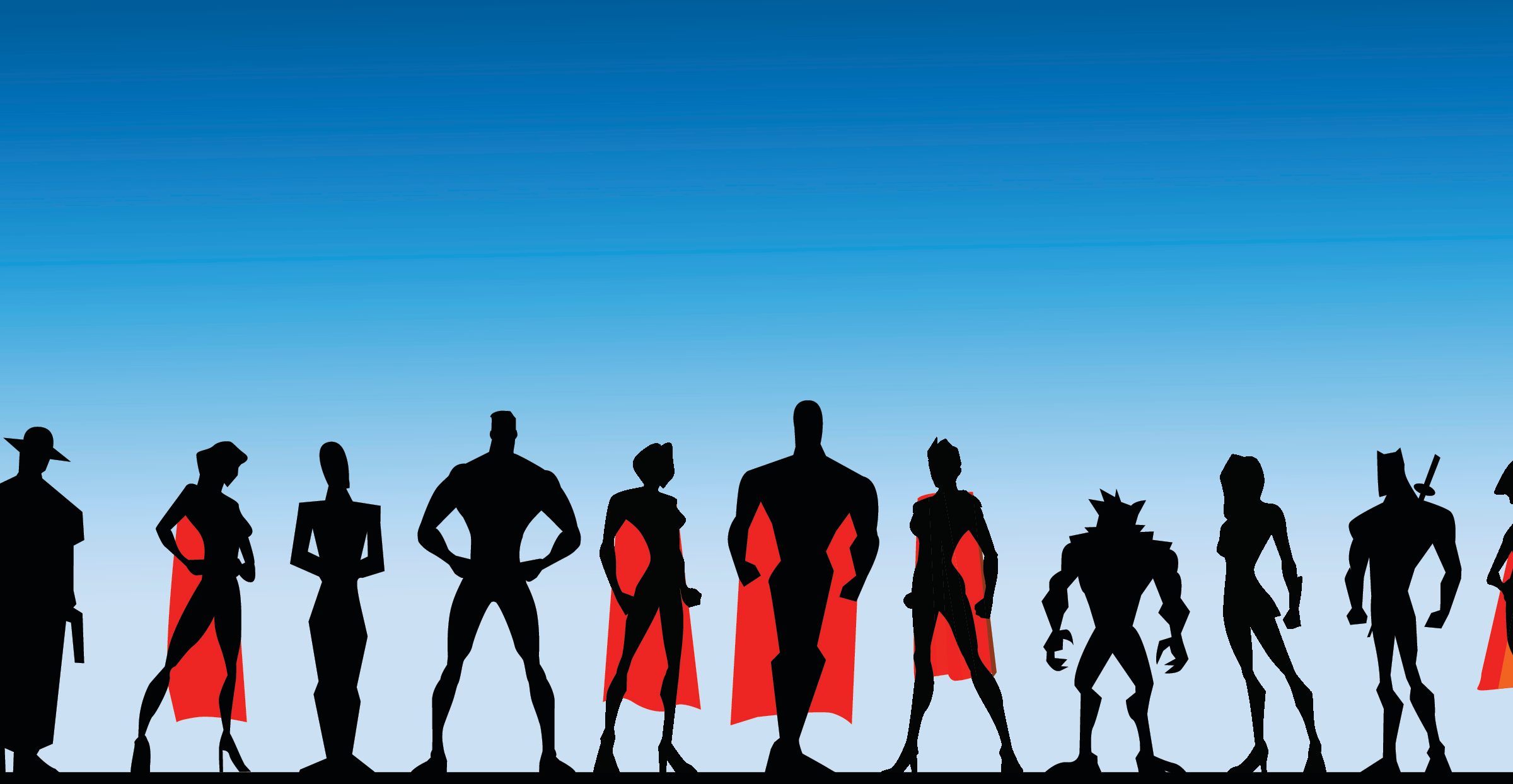 your website management super heros
